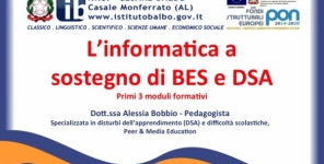 L'INFORMATICA A SOSTEGNO DI BES E DSA - Corso di formazione per insegnanti